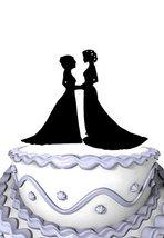 Meijiafei Hers & Hers Same Sex Wedding Cake Topper Lesbian &Gay Wedding Topper - $15.20