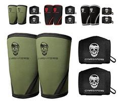 Gymreapers Elbow Sleeves 1 Pair W/Bonus Wrist Wraps - Support & Compress... - $45.22