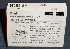 ASTATIC N284-6D NEEDLE for DUAL DN-70 for DUAL CDS-700 CDS-671 CDS-661 CDS-650 image 2