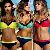 NEW Women's Padded Push-up Bra Bikini Set Swimsuit Swimwear Summer Bathing Suit image 4