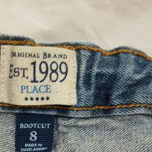 Blue Jeans Denim Boys Size 8 Bootcut Children's Place image 6