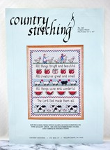 Country Stitching Country Prayer Counted Cross Stitch Sampler Kit #341 - $28.45