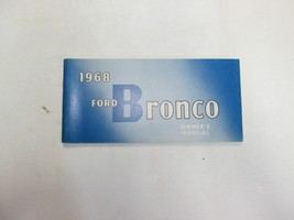 1968 Ford Bronco Owners Operators Owner Manual NEW - $44.54