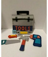 Felt Cotton Toy Tool set and bag props learning decor - $9.50