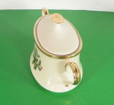 Lenox Dimension HOLIDAY Creamer and Sugar Bowl with Lid Holly Berry image 4