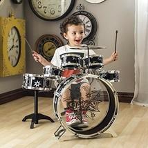 Set De Bateria Musical De 11 Piezas Para Estimular Creatividad En Niños ... - $47.70