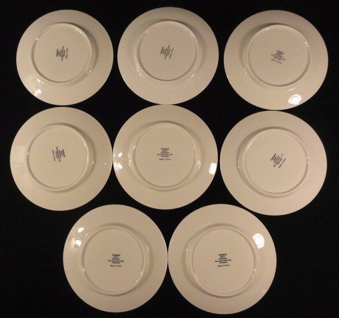 Sango 20pc Garland 8837 Flat Cups Saucers Salt & Pepper Shakers Tea Pot Plate