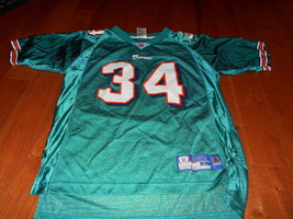 Miami Dolphins R.Williams # 34 Reebok/NFL Jersey Size Youth Large 14-16 ... - $266,16 MXN