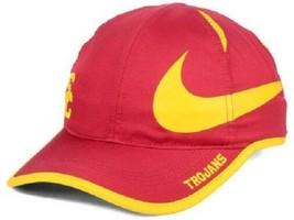 USC Trojans NCAA Nike Big Swoosh Aerobill Adjustable Hat - $17.77