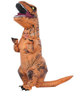 Jurassic World Inflatable T-Rex Dinosaur Child Costume NWT by Rubies™ Si... - $84.53 CAD