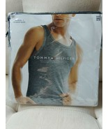 Tommy Hilfiger Rib Tank Classic Muscle Form Fitting Size XXL Grey 1 Pack - $19.35