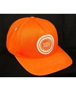 Vintage Phoenix Sun NBA Mitchell & Ness Orange Baseball Cap Hat Box Shipped - $3.99