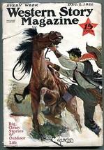 Western Story Magazine Pulp December 2 1922- Homan cover VG - $94.58