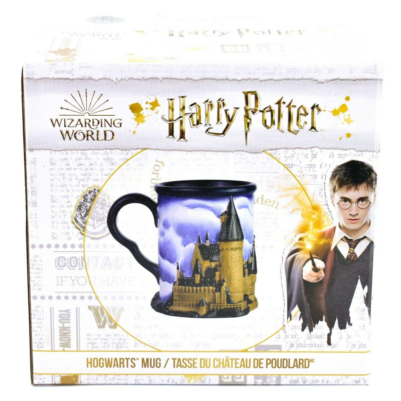 Enesco Harry Potter Wizarding World Hogwarts Castle Molded Stoneware Mug