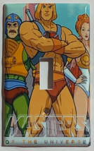 He-Man Masters of the universe Switch Outlet Wall Cover Plate Home decor image 1