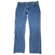 Harley-Davidson Men's 42 X 34 Straight Leg Denim Jeans Light Wash Motorc... - $35.00