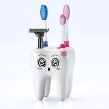Teeth Style Toothbrush Holder 4 Hole Cartoon - $16.53