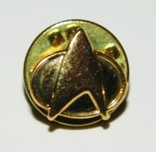 Star Trek: The Next Generation Micro Communicator Metal Enamel Gold Pin NEW - $4.99