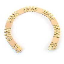 14K Yellow Gold Mens Fancy Link Bracelet - $1,917.63