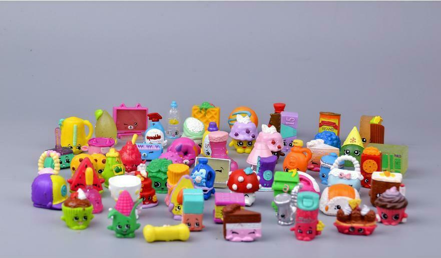 Mini Fruit Figure Toys Children Gift 100 Pieces Action Figures Western Animation