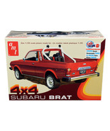 Skill 2 Model Kit 1978 Subaru BRAT 4x4 Pickup Truck 1/25 Scale Model by ... - $56.42