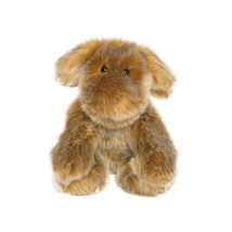 Manhattan Toy Company Luxe Saffron Dog Plush Stuffed Animal Soft & Furry - $8.91