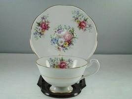 Royal Imperial Floral Cup & Saucer Porcelain - $21.77