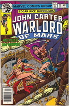 John Carter Warlord of Mars Comic Book #23 Marvel Comics 1979 VERY FINE- - $5.71