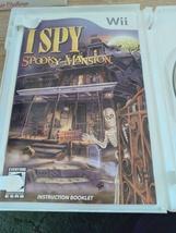 Nintendo Wii I SPY Spooky Mansion ~ COMPLETE image 2
