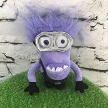 DreamWorks Despicable Me Purple Minion Plush Pocket Stuffed Animal Clip - $9.89
