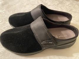 Easy Spirit Eseliana Black Slip-on Casual Clog Shoes Womens 9 M - $24.95