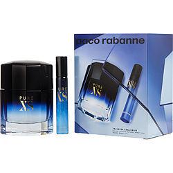 Pure Xs By Paco Rabanne Edt Spray 3.4 Oz & Edt Spray 0.68 Oz (Travel Edition) - $115.00