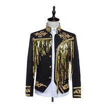 1791's lady Victorian Men's Aristocrat Costume Regency Vest Coat Jacket - $84.15