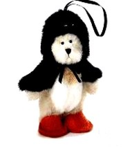 "Boyds Bears ""Wee Waddlekins"" #562441- 3.5"" Penguin Ornament- New -Retired - $18.99"