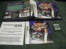 Are You Smarter Than a 5th Grader? - Nintendo DS THQ Video Game - $4.94