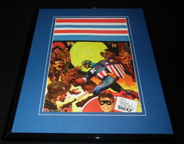 Marvel Zombies Captain America #1 Framed 11x14 Poster Display - $32.36