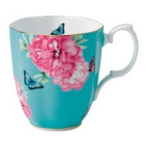 "Royal Albert Friendship Turquoise, Miranda Kerr  Mug 4 1/8"", NEW (s) - $34.64"