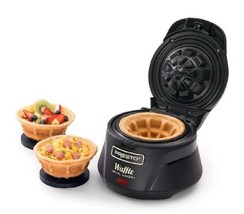 Belgian Waffle Bowl Maker Electric Iron Press Kitchen Counter Top Non St... - €28,41 EUR