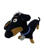 "Plush Secret Life Of Pets Dog Buddy Dachshund 14"" Stuffed Animal Toy Fac... - $10.99"