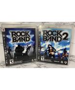 Rock Band and Rock Band 2 Sony PlayStation 3 2007 PS3  - $19.79