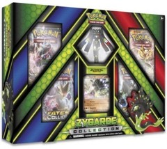 Pokemon TCG Zygarde EX Collection Box Sealed 4 Booster Packs, Promo, and Figure - $21.99