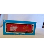 HO Scale Life-Like 40' Box Car, Campbell's Chunky Soup, Red, #1982, BNOS - $14.85
