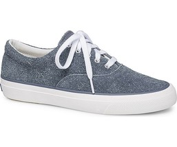 Keds WH58537 Women's Anchor Hairy Suede Blue Sneakers, Size 9 - $36.62