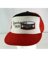 Vintage Copenhagen Snuff Red/Black Baseball Cap  Snapback - £23.19 GBP