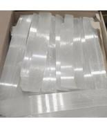 """LOT lbs XL Selenite Logs """" Wand Rough Crystal Sticks Heal 5 POUND BULK WHOLESALE - $37.28"""
