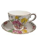 Tuscan Teacup | Tuscan China | English Fine Bone China | Cup and Saucer - $49.99