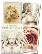 White Light Oracle: Enter the Luminous Heart of the Sacred [Cards] Fairc... - $29.63