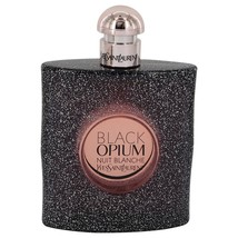 Yves Saint Laurent Black Opium Nuit Blanche 3.0 Oz Eau De Parfum Spray image 1