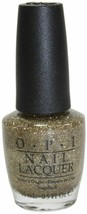 OPI Nail Lacquer E13 All Sparkly and Gold - $6.75