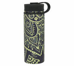 NEW Gaiam 18 Oz. Stainless Steel Water Bottle for Hot or Cold Drinks NWT image 12